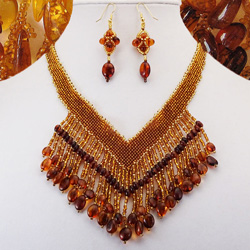 Stunology Baltic Amber Designer Jewelry